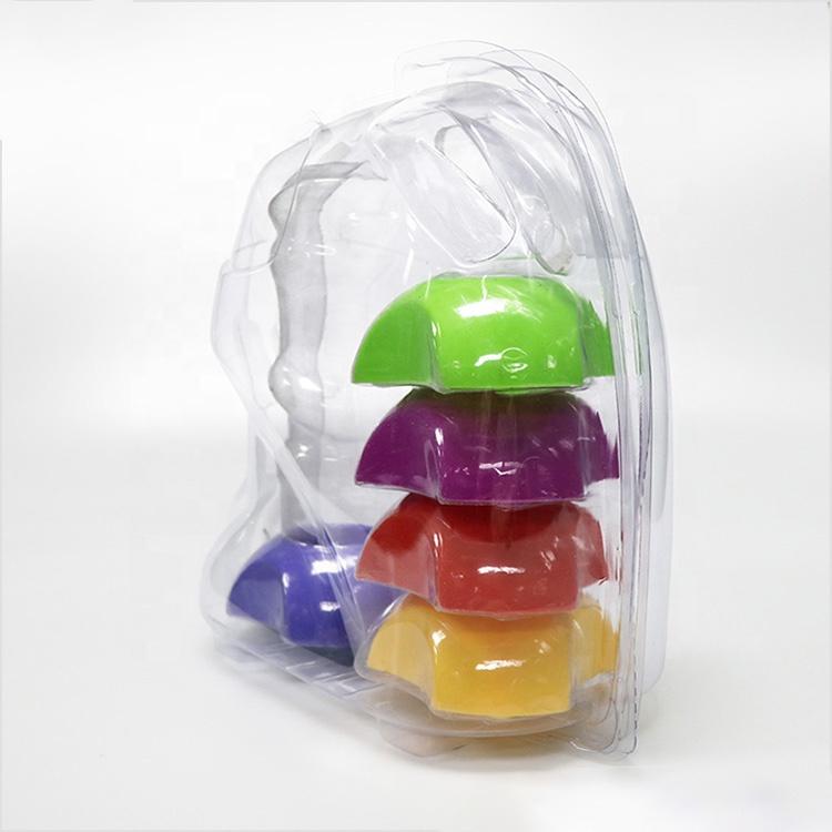 Дизайн на заказ ПЭТ ПВХ ПП пластиковая игрушка блистер упаковка