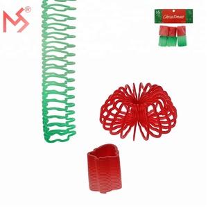Caçoa o presente de natal promoção mola slinky rainbow magic toys