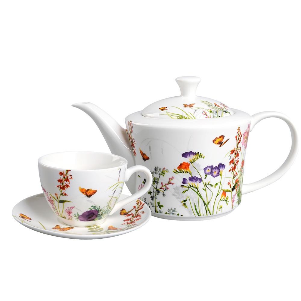 Античная <span class=keywords><strong>15</strong></span> шт. фарфоровая посуда бабочка чайные наборы для взрослых