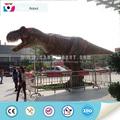 dino parque animatronic dinosaurio t-rex