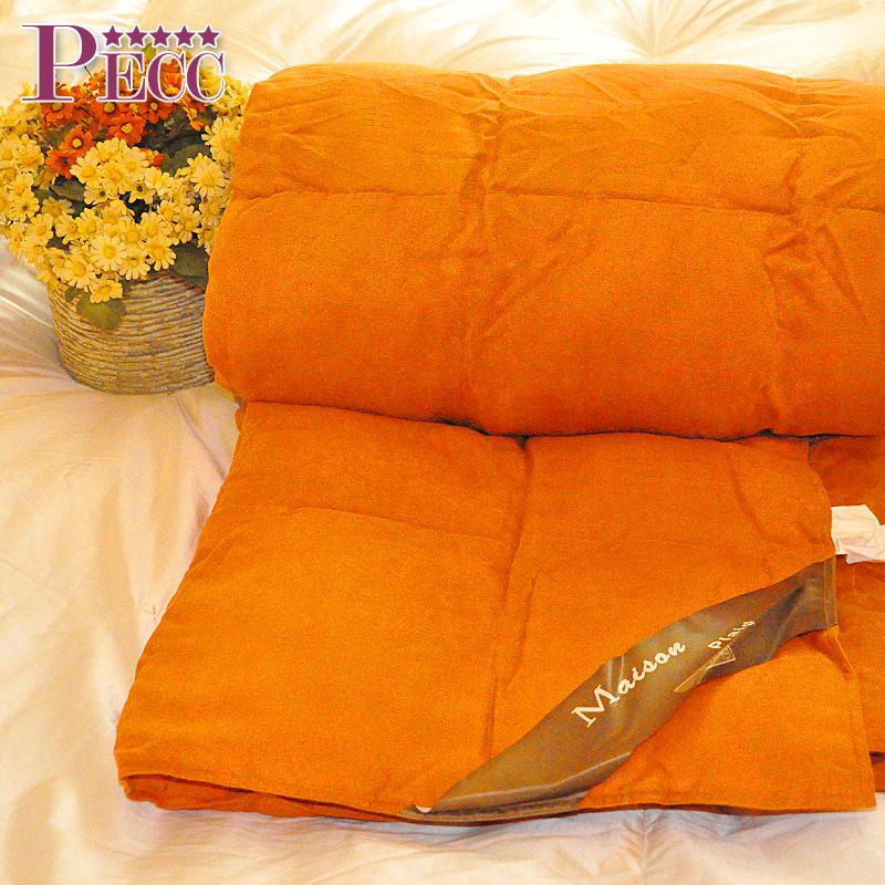 Orange bông nữ hoàng xuống đầy lông comforter