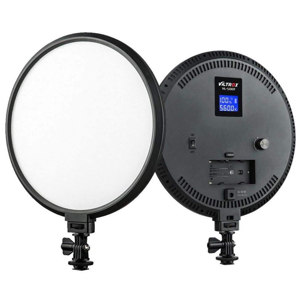 VILTROX Nuovo HA CONDOTTO LA Luce VL-500T Anello LED Video Light Studio Videocamera Fotografica Bi-color Pellicola di Ripresa
