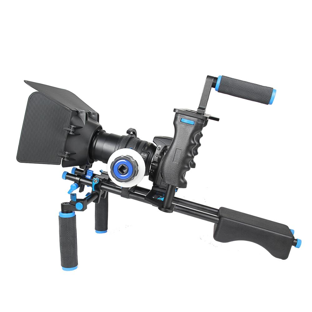 YELANGU D221 Professional <span class=keywords><strong>Dslr</strong></span> 어깨 Rig Kit <span class=keywords><strong>DSLR</strong></span> Video Camera 안정제 Movie 슛을 쏘고 <span class=keywords><strong>장비</strong></span>