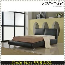 cama moderna cama de cuero muebles