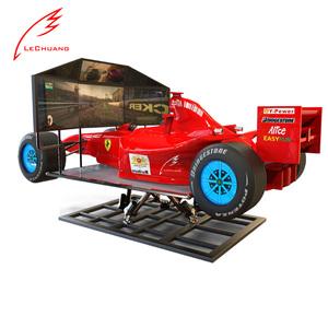 Горячая Распродажа Крытый ралли виртуальной реальности 6Dof симулятор вождения гоночный симулятор 3 экранов вождения автомобиля