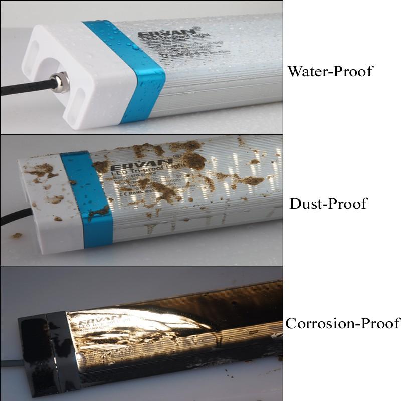 2015 New High Quality 30W IP66 4ft 1.2m LED Tri-proof Tubular Light led waterproof Lighting led ring light Daylight white