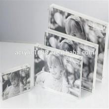 venta caliente de acrílico de fotos de recuerdos de nacimiento
