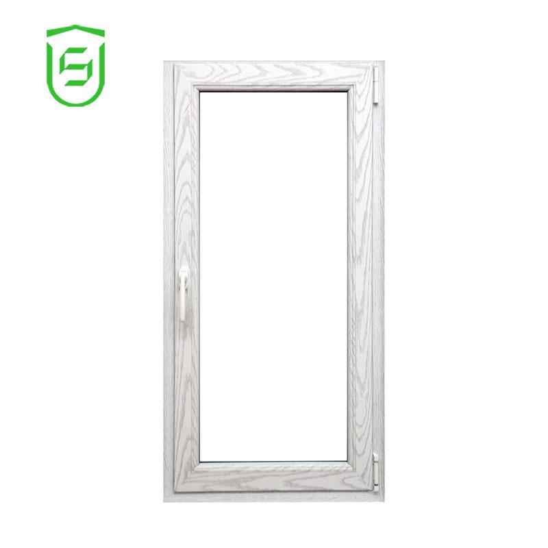 Aluminio Ventana de corte térmico doble gafas para proyecto de Hotel