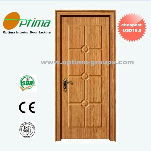 Wholesale cheap wholesale mdf wooden pvc door jlf 008 for Cheap pvc door
