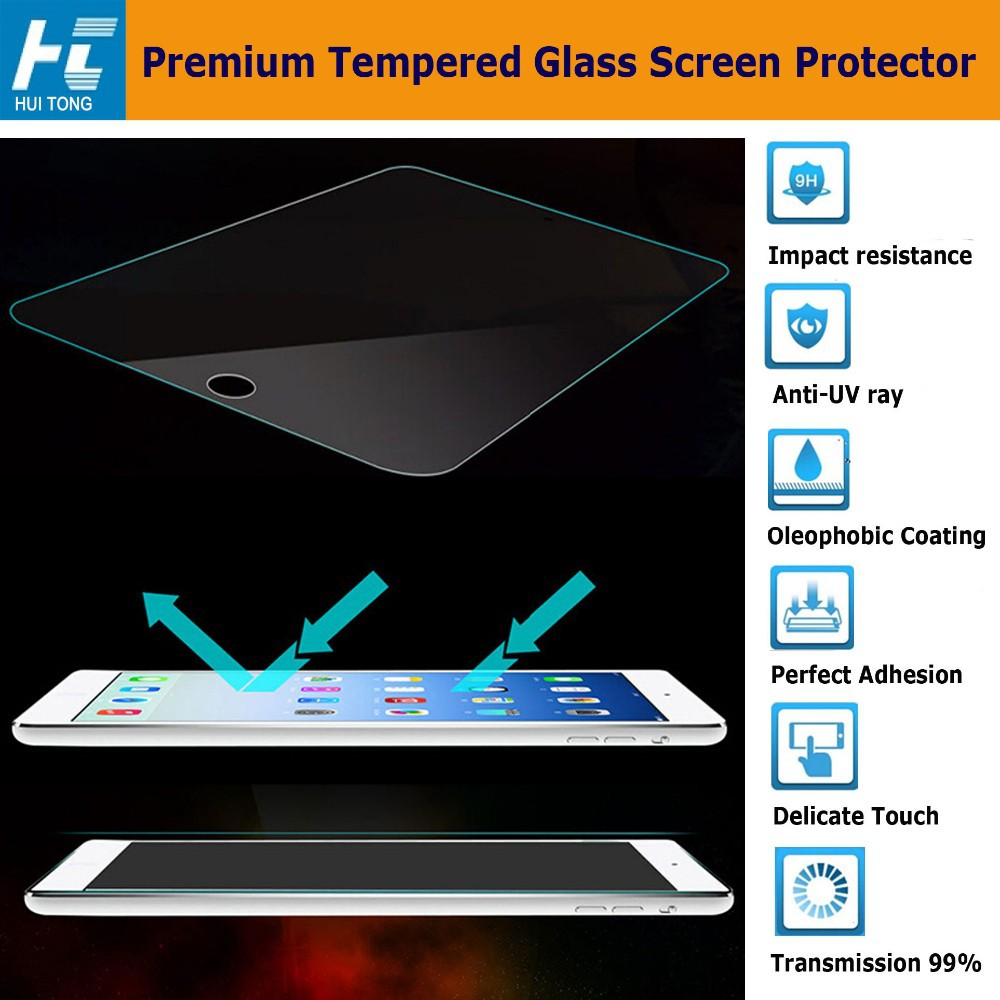 Full Cover Glass Screen Protector For Huawei P9 Mobile Phone 9H Hardness 0.33mm HD Clear Tempered Glass