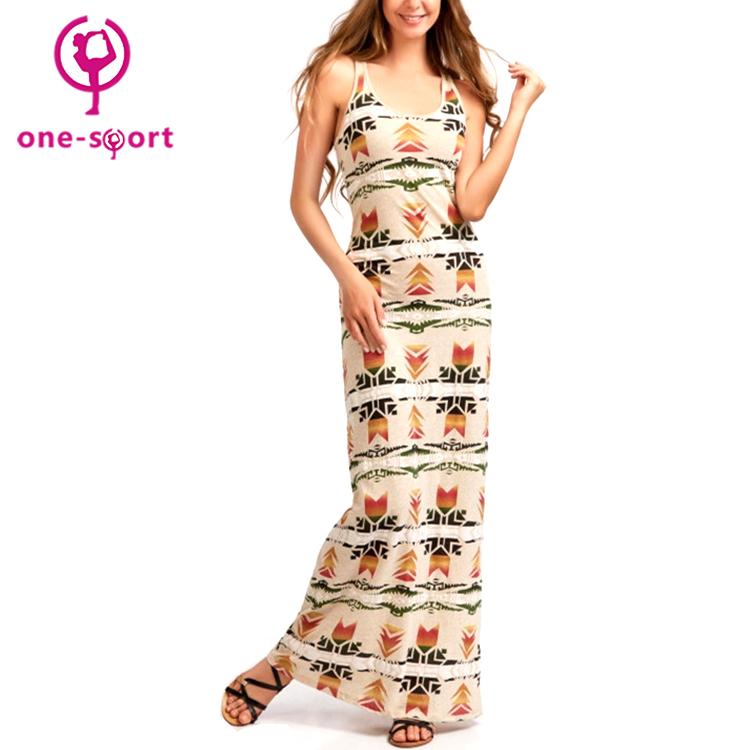 Denim delle donne a lungo stretto spiaggia delle signore del partito di un pezzo del vestito della boemia di estate più il formato abiti maxi sexy di modo del vestito dalla spiaggia