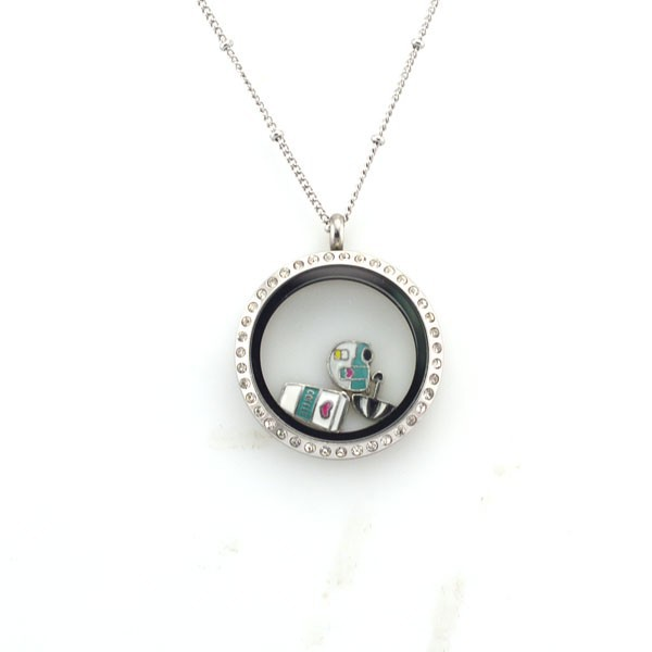 wholesale fashion jewelry floating charms lockets
