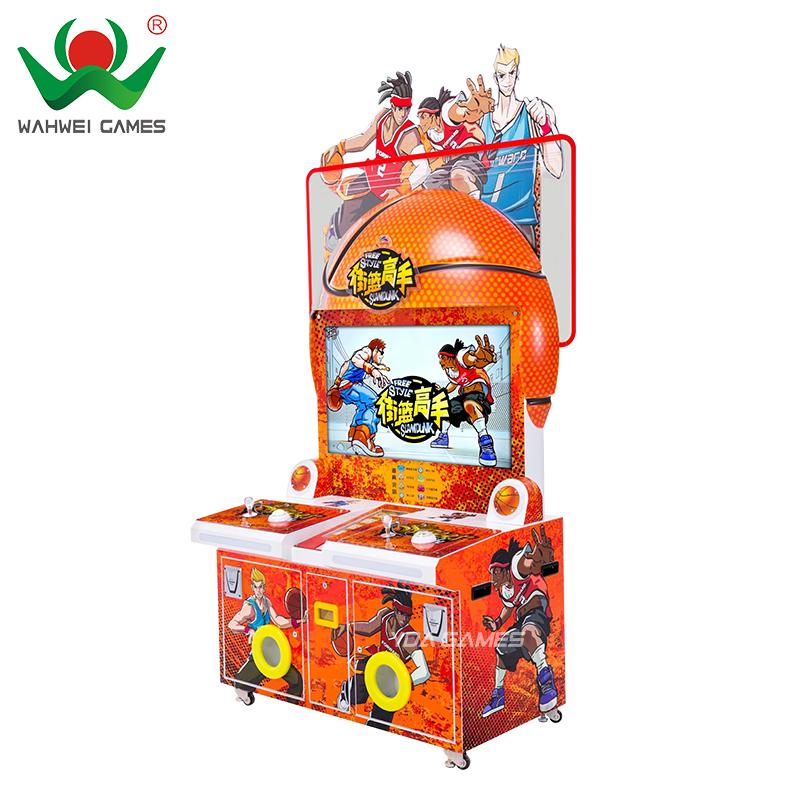Style libre Slam Dunk de rachat de billet de machine attrayant nouveau jeu de <span class=keywords><strong>basket</strong></span>-ball