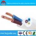 cable eléctrico multi conductores de cobre o ccc RVV / cable electrico para casa