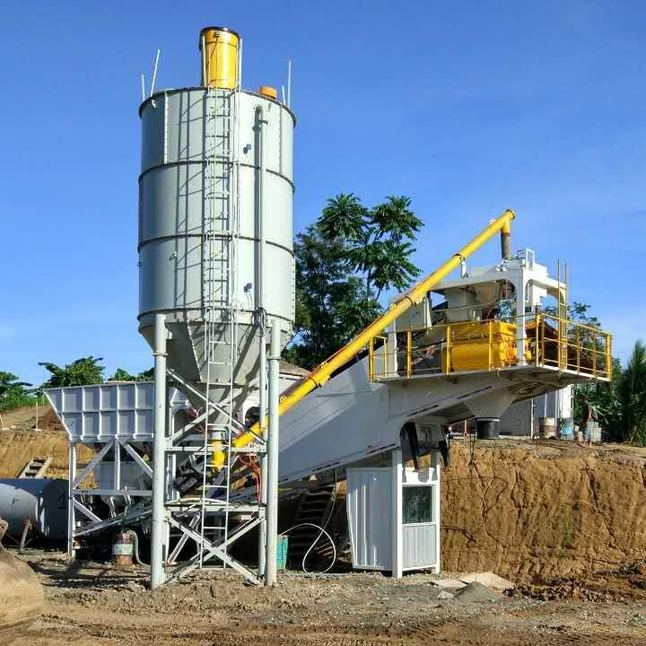 35 cubic m 배치 플랜트를 hzs 자동 콘크리트 mixing batch 식물
