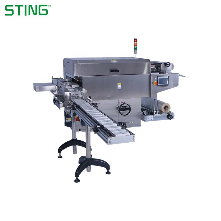 Automatique De Rétrécissement De Pvc D'étanchéité Cellophane D'emballage Boîte à Cigarettes Machine à Emballer