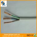 Cable eléctrico de aluminio de 3 núcleos