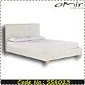 nueva cama del cuero del diseño para el dormitorio