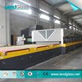 LandGlass Jet convecção CE/ISO certificado vidro elétrico linha/vidro revenimento forno de têmpera