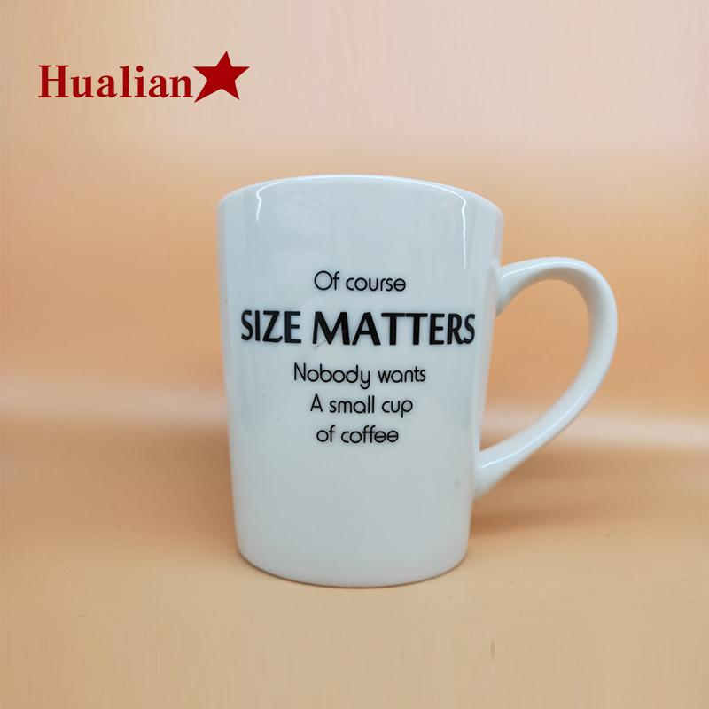 personalizado home hotel usado decalque café imprensa caneca de café do curso de cerâmica impressão