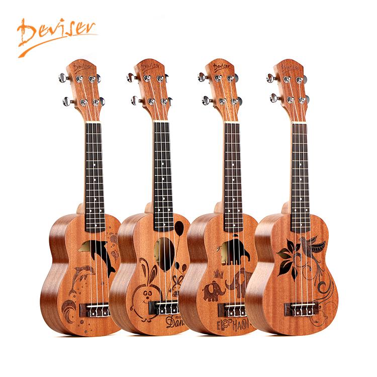 Nhà máy tùy chỉnh sơn liệu gỗ hồng guitar ukulele