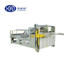 Venta caliente Semi automática caja de cartón grapadora fabricante de la máquina