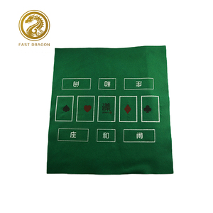 Esteira do jogo Não-tecido Tecidos pano de Jogo do Casino Mesa de Poker Texas hold'em Impressão Jogando Tapete
