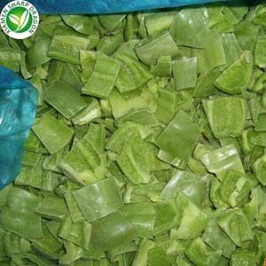 IQF congelé piment vert dés cube tranche