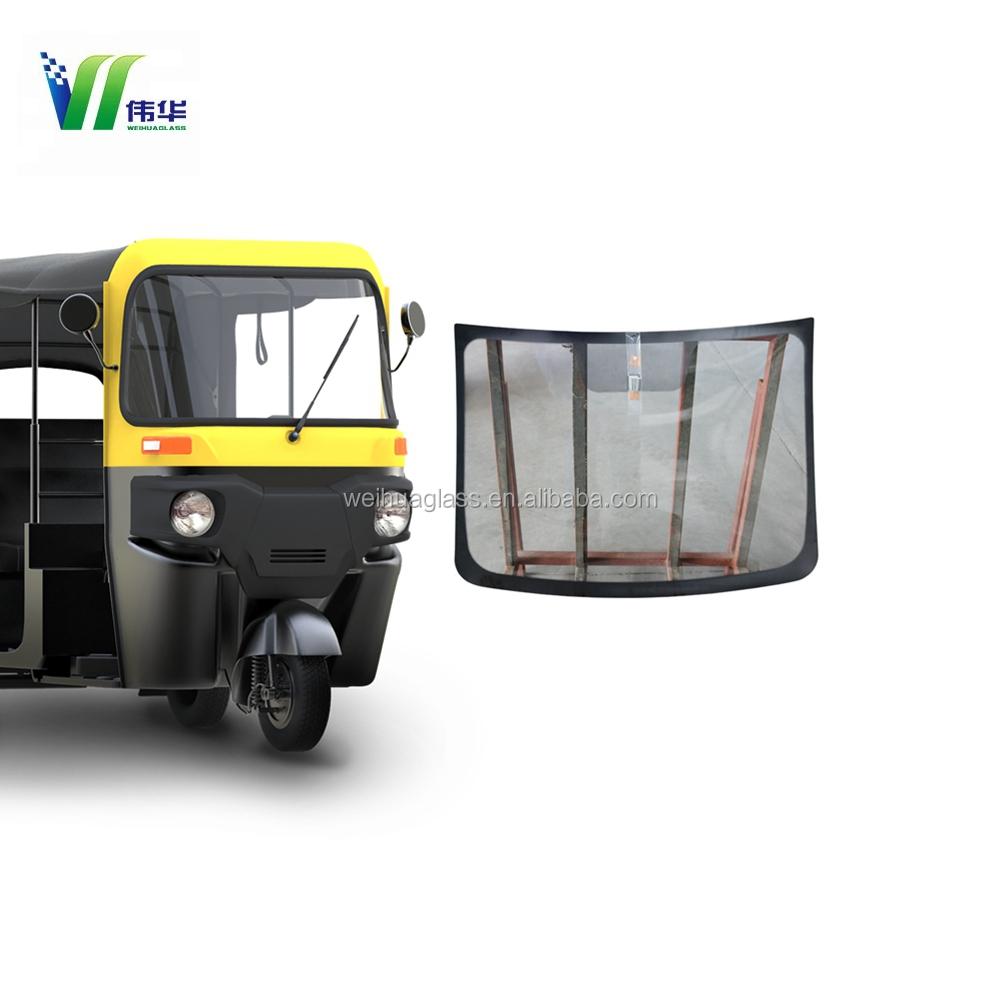 Ясно Авто переднего <span class=keywords><strong>окна</strong></span> цена, лобовое стекло Индия bajaji tuk тук для продажи