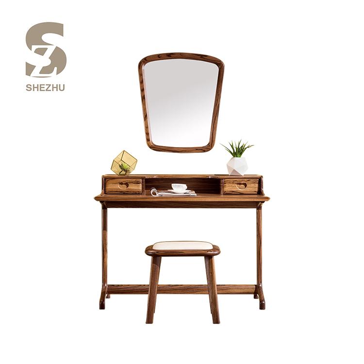 Мебель для спальни деревянный макияж зеркальные волосы комод