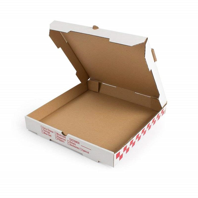 Дюймов 6 дюймов многоразовые Гофрированная коробка для пиццы формы для пищевой упаковки