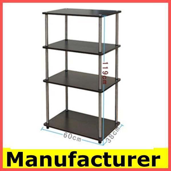Vitrina de madera metal estante de exhibici n de china - Soportes para estantes de madera ...