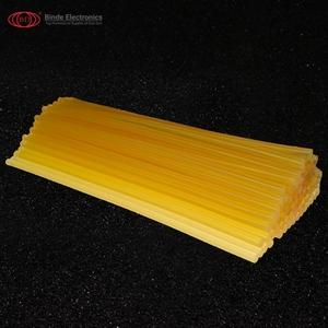 Haute qualité jaune bâton de colle non toxique jaune thermofusible bâton de colle pour pistolet à colle DIY