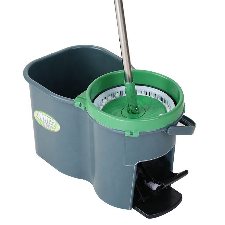 마이크로 화이버의 셔닐 실 층 청소기 Mop Set 조합 할 360 Spin Magic Mop