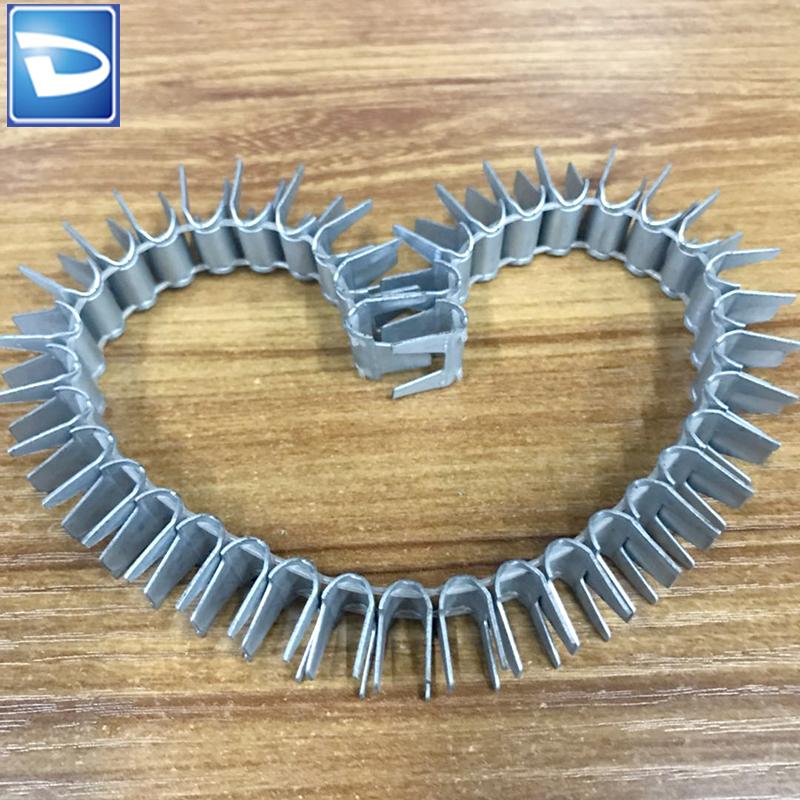 En forma de U de metal clip de resorte m66 cl-72 colchón clip
