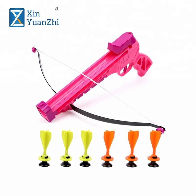 Trẻ em nhựa recurve bow set bắn cung đồ chơi với an toàn chụp phi tiêu