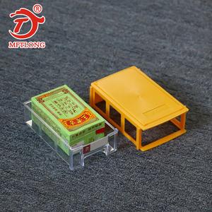 Caja de contenedor blanco de 3 niveles niños mini cajones 4 capa de almacenamiento de cajón de plástico de