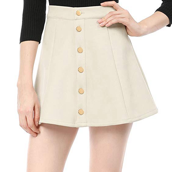 2018 新 A ラインの膝ポリエステル繊維スカート女性のための
