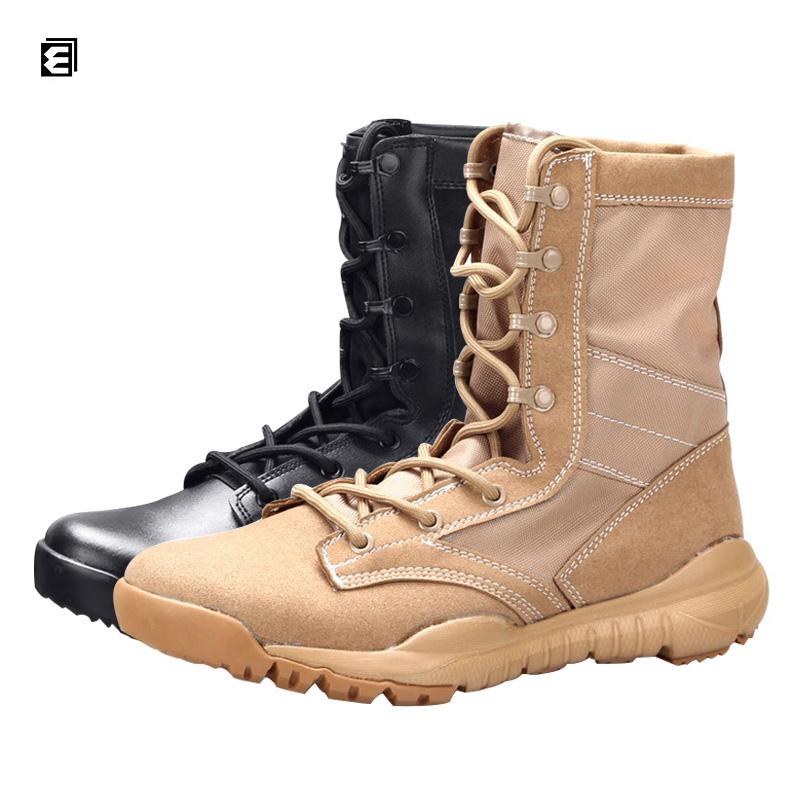 2 вида цветов Высокое качество дышащие Черные новые армейские ботинки армии США