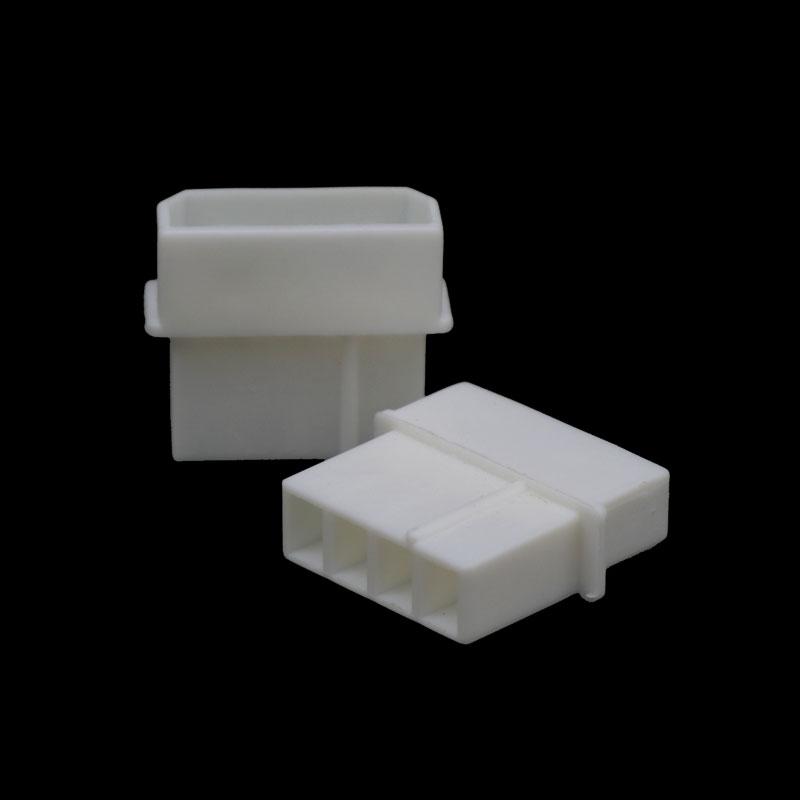 Preço de fábrica Branco vermelho Claro conector molex 8981 pinos molex IDE 5.08 milímetros 4