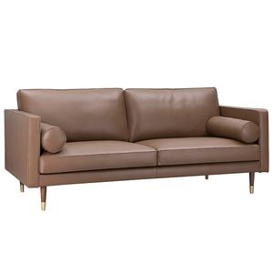 クラシック 2 シートの革ソファー居間ソファ家具セット家具断面ソファ現代