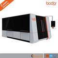 Máquina de laser fibra para corte metales acero carbono y inoxidable plataforma de intercambio automático con 2 años garantia