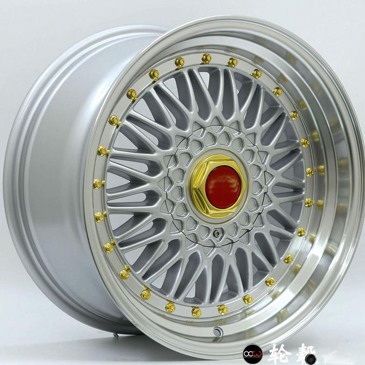 14/15/16/17 pulgadas BBS de aleación de aluminio ruedas para coche
