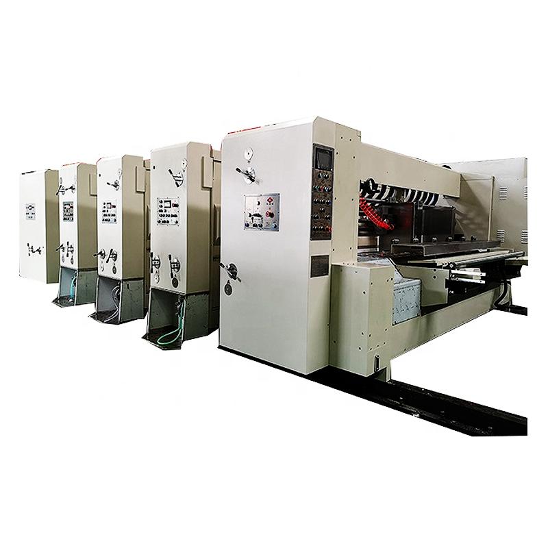 Impresora flexográfica ranuradora de corte de la máquina de impresión de precio