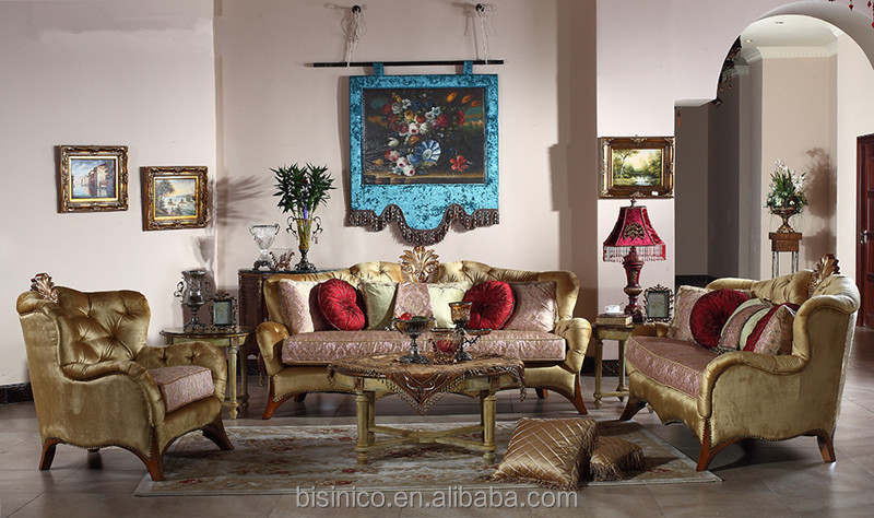 retro british style königliche möbel, luxus wohnzimmer sitzgruppe