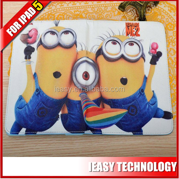 New design cute flip case for ipad stand cases for ipad