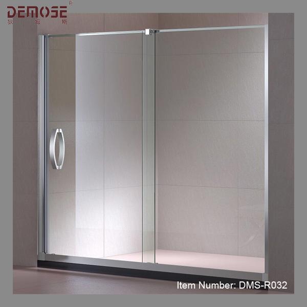 Badkamer glaswand evolutie inloopdouche - Glas betegelde badkamer bad ...