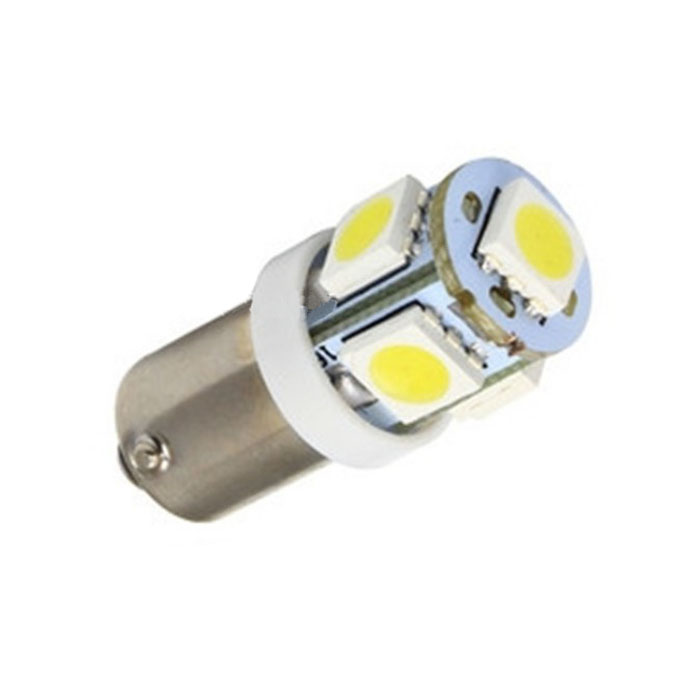 Источник света для авто 10 x T11 BA9S White 5 5050 SMD 12V Jecksion