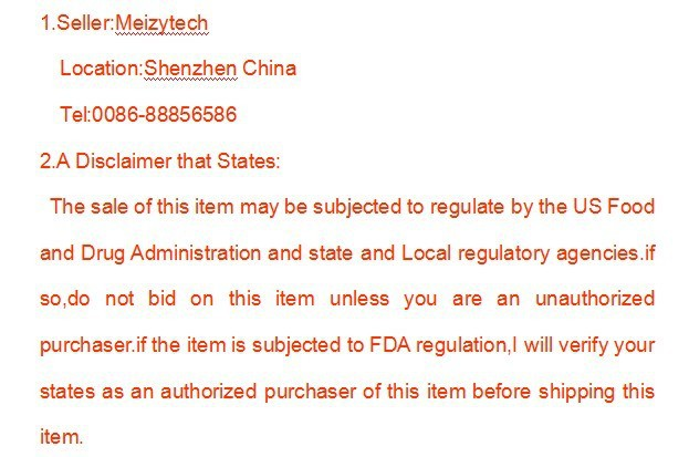 FDA state