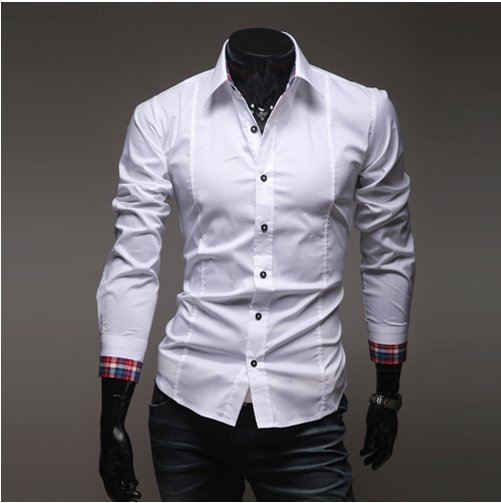 Online Cheap Wholesale Mens Shirts Long Sleeve Shirts For Men ...